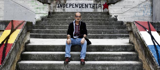 Josu Zabarte, fotografiado durante su encuentro con EL MUNDO, el...