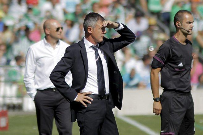 Lucas Alcaraz, durante un partido del Granada de la pasada temporada.