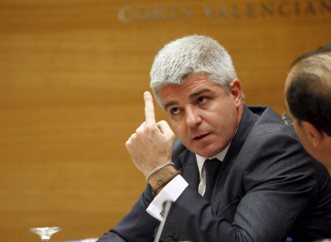 José López Jaraba, durante una comparecencia en la comisión de las...