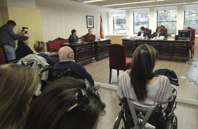 Imagen de archivo del juicio por la talidomida.