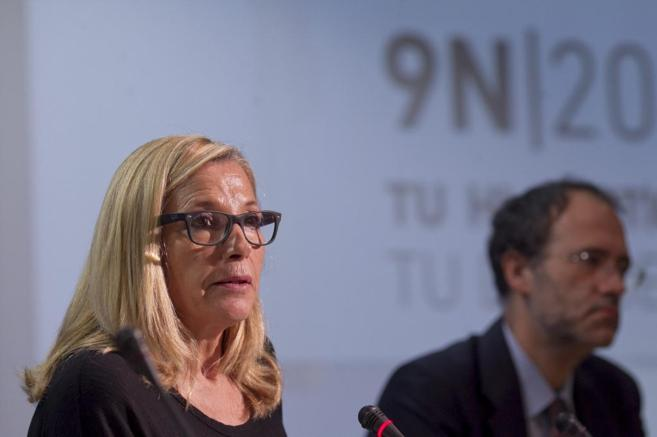 La vicepresidenta del Govern explica el operativo.