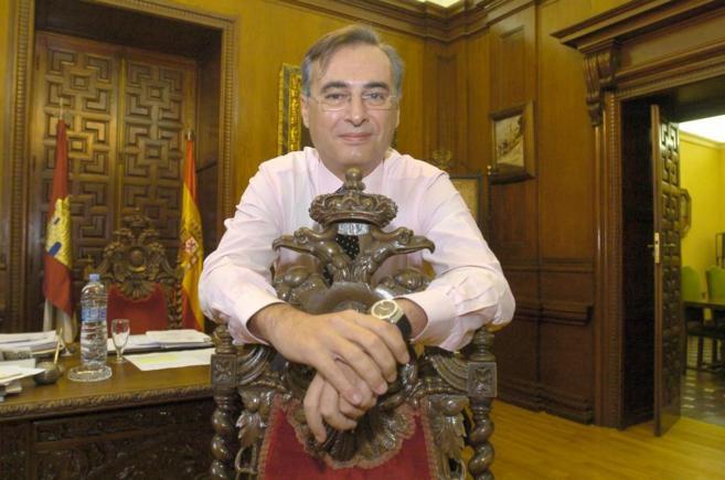 El ex alcalde de Toledo, José Manuel Molina, en 2005