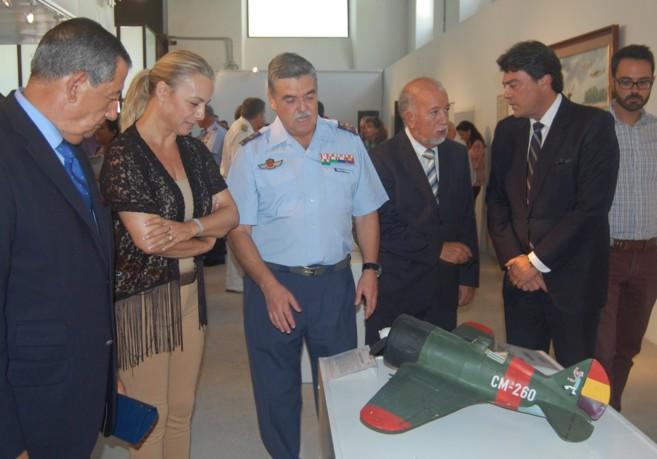 Castedo, en la inauguración de la exposición conmemorativa del...
