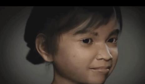 Sweetie, la niña virtual creada por una ONG para 'cazar' pedófilos en la red.
