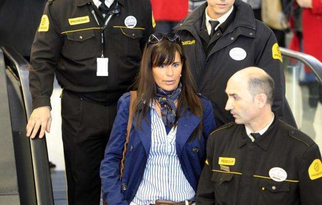 María Victoria Álvarez, en una comparecencia judicial
