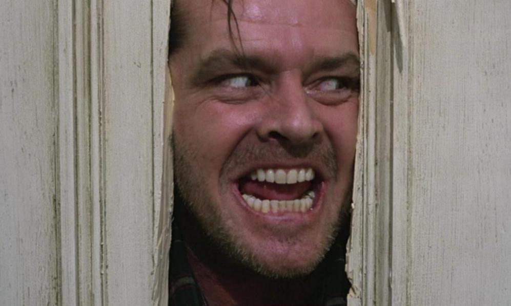 Jack Nicholson como Jack Torrance en 'El resplandor', el clásico de...