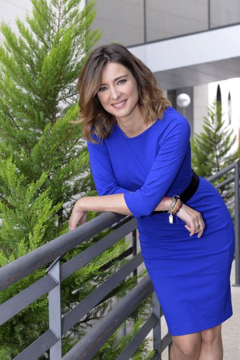 Sandra Barneda, presentadora del 'Un tiempo nuevo'