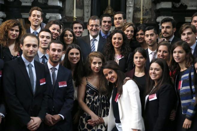 Mariano Rajoy en la apertura del curso del Colegio de Europa de...