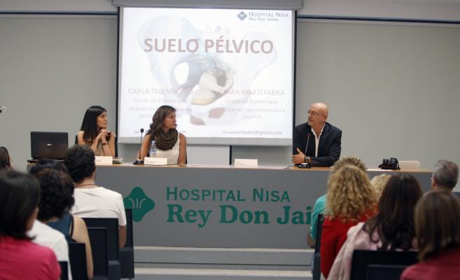 Conferencia celebrada este jueves en el Nisa Rey Don Jaime de...