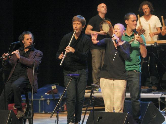 Mercedes Peón, José Manuel Budiño y Joge Pardo.
