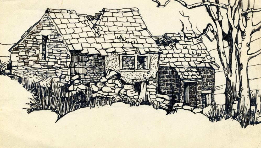'Cumbres borrascosas hoy', 1956
