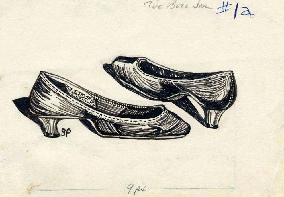 'Estudio de zapatos', 1956