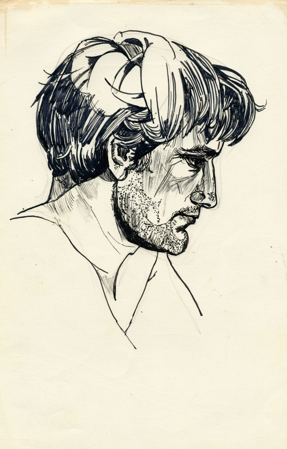'Ted Hughes', 1956 (Francia)