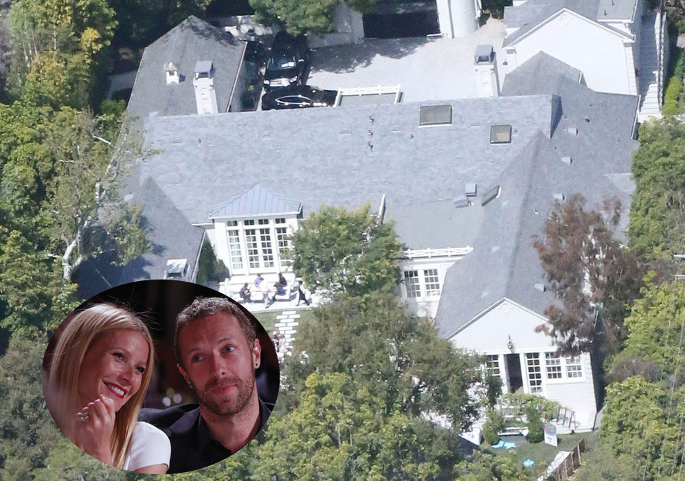 Gwyneth Paltrow (42) y Chris Martin (37): Antes de que la pareja...