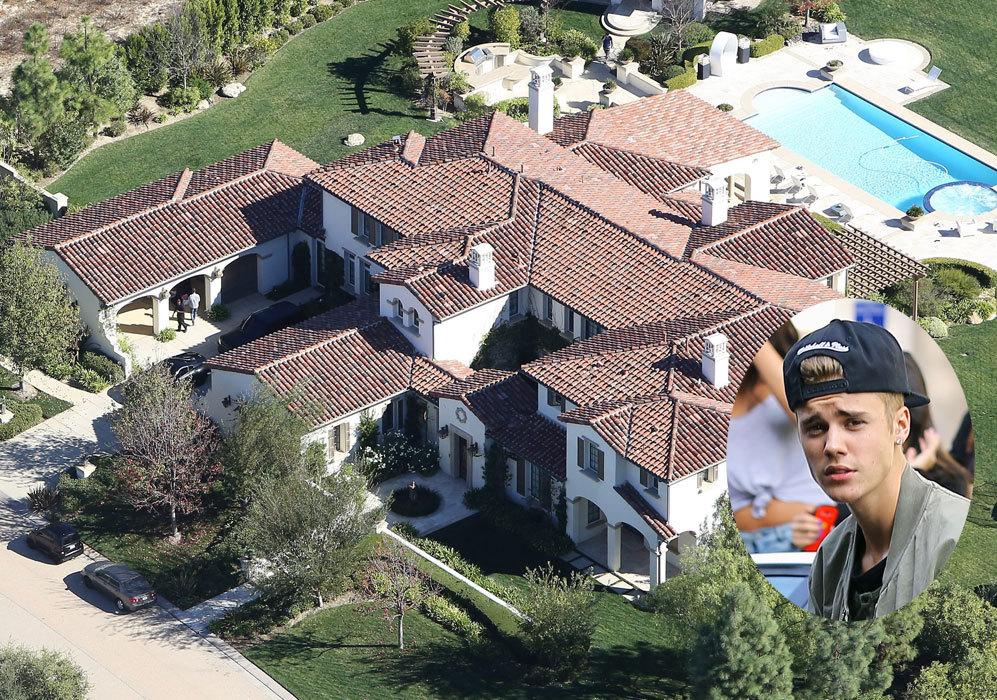 Justin Bieber (20): Con 20 años, el cantante tiene en propiedad esta...