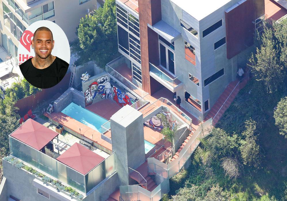 Chris Brown (25): Esta es la mansión que el cantante tiene en...