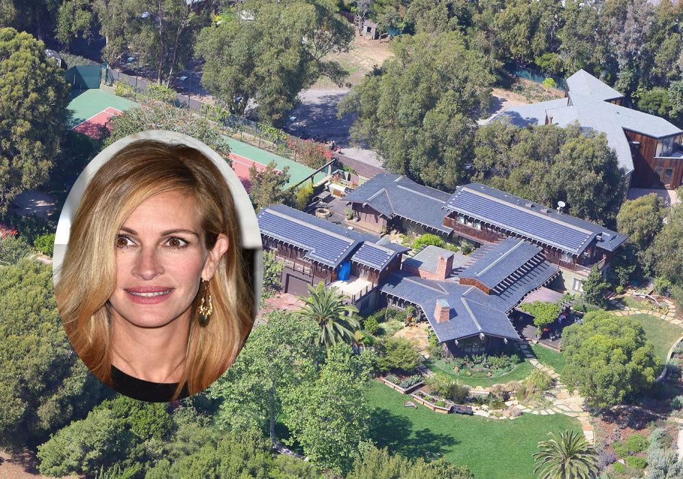 Julia Roberts (46): Una de las más impresionantes mansiones es...