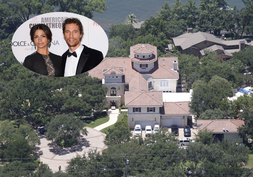 Matthew McConaughey (44): El actor y su mujer, la modelo brasileña...