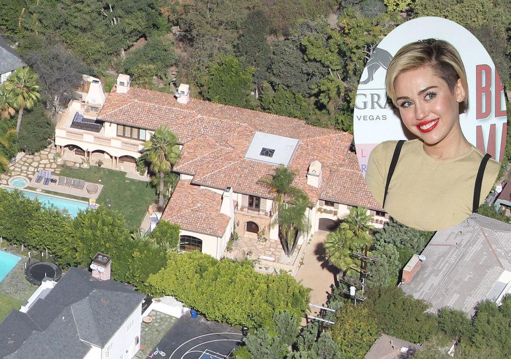 Miley Cyrus (21): La joven cantante adquirió esta mansión millonaria...