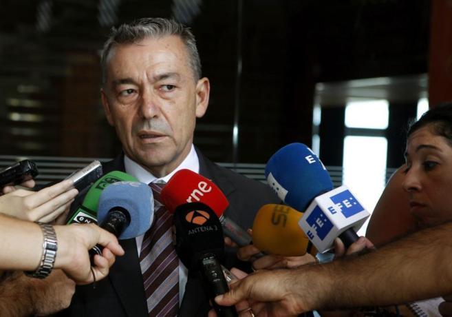El presidente del Gobierno de Canarias,Paulino Rivero
