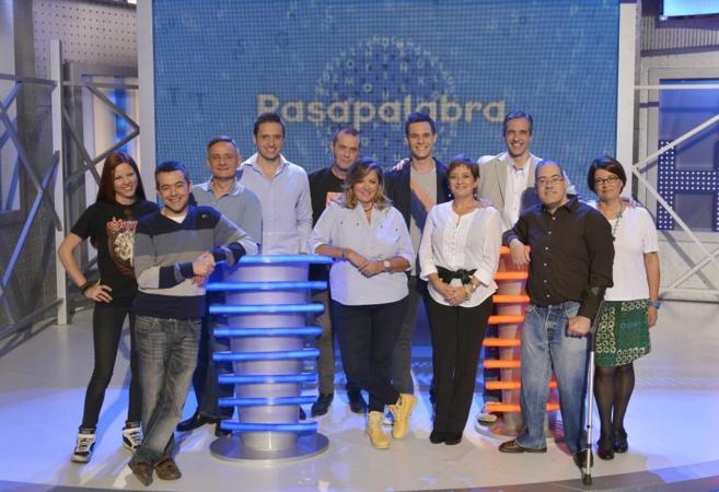 Cristian Gálvez y los diez ganadores del bote de Pasapalabra