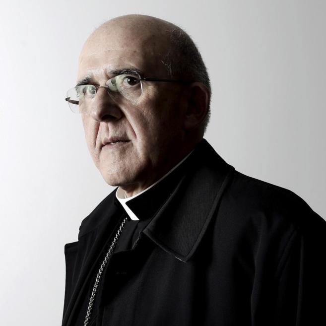 En la imagen,el nuevo arzobispo de Madrid, Carlos Osoro
