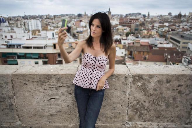 Cristina Seguí en Valencia, en una imagen de agosto.