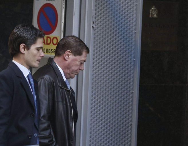Domingo Parra, a su llegada a la Audiencia Nacional en diciembre de...