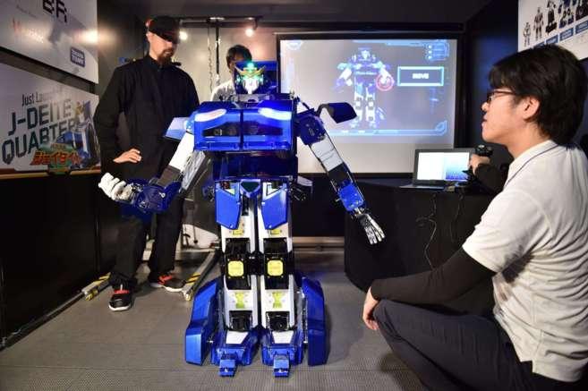 Una de las últimas exposiciones de robíotica, celebrada en Japón.