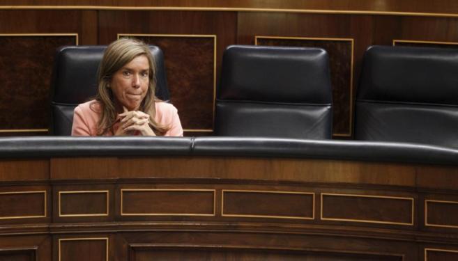 Ana Mato en el Congreso el pasado 22 de octubre.