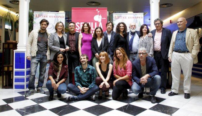 Presentación en Madrid del Festival de Cine Europeo de Sevilla.