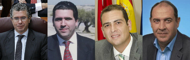 Francisco Granados, el constructor David Majeriza, y los alcaldes...