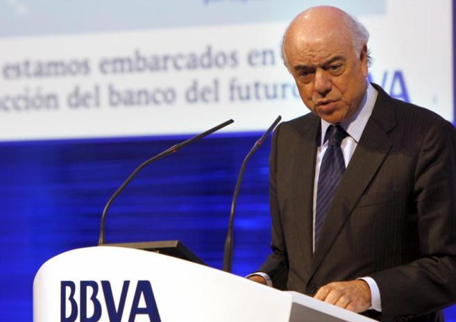 Francisco González Rodríguez, presidente del BBVA.
