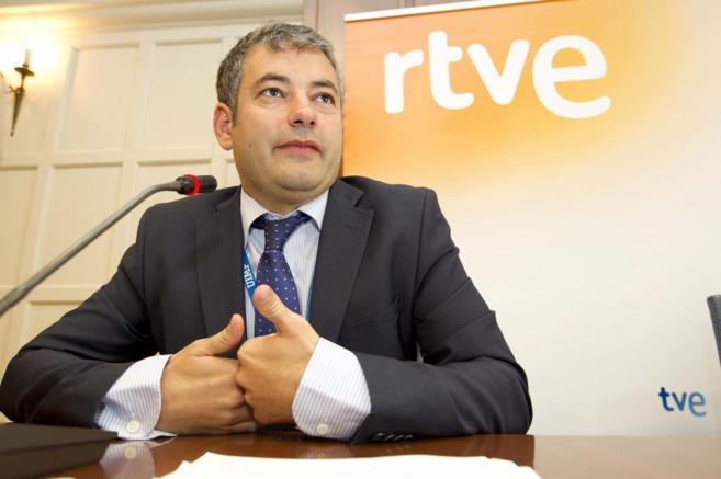 Julio Somoano, el recién destituido director de Informativos de TVE.