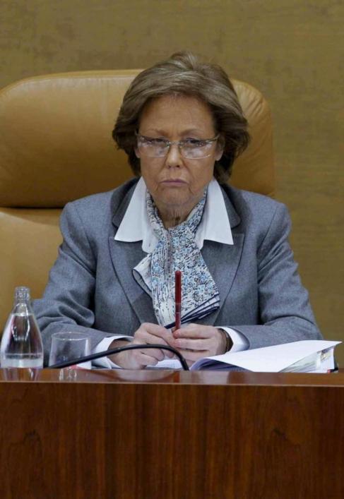 Rosa Posada era vicepresidenta en la Asamblea de Madrid. E. M.