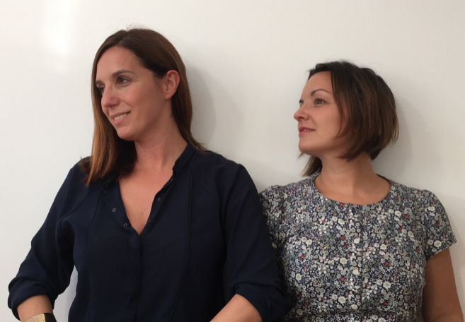 Anabel Vázquez  y María Martínez , copropietarias de Laconicum.