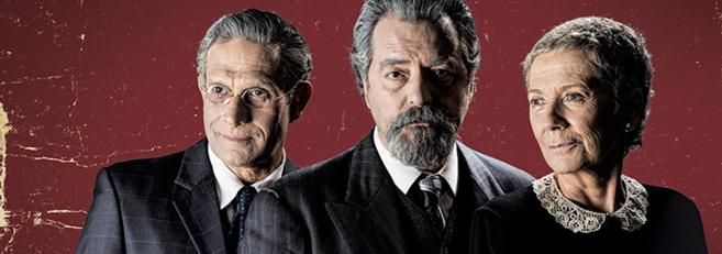 Los protagonistas de 'El último encuentro' en el Romea:...