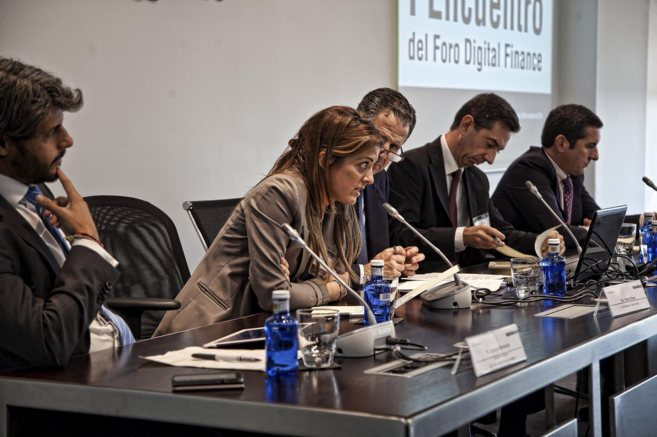 Marta Plana, cofundadora de Digital Origin, en el I Foro Digital...