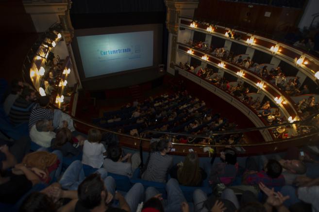 Teatro Principal en la gala de este jueves.