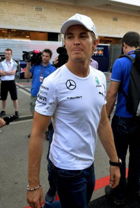 Nico Rosberg, en Austin.