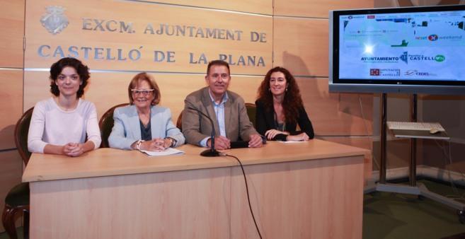 Presentación, este viernes, en Castellón.