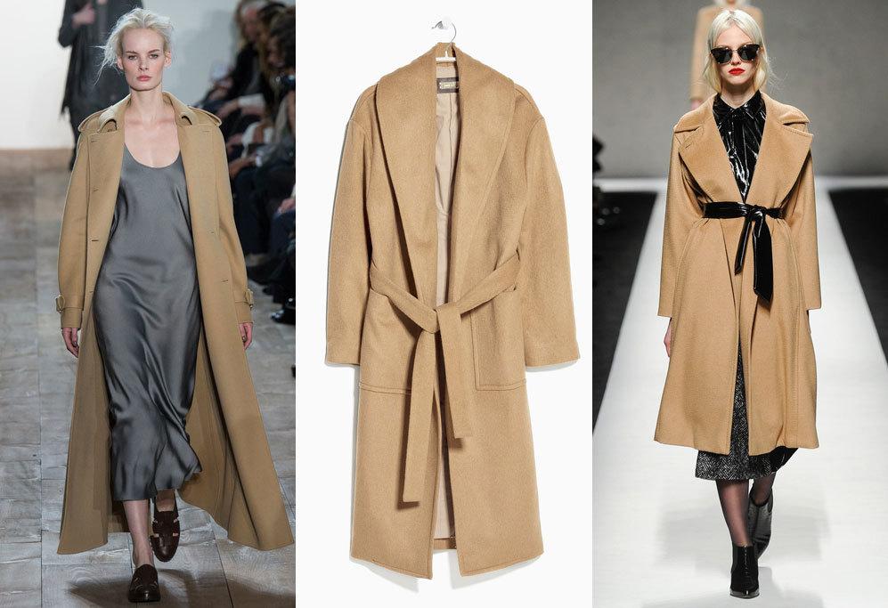 <strong>4. Batín:</strong> El clásico abrigo camel se presenta en...