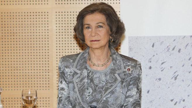 La Reina Sofía, en una imagen de archivo.