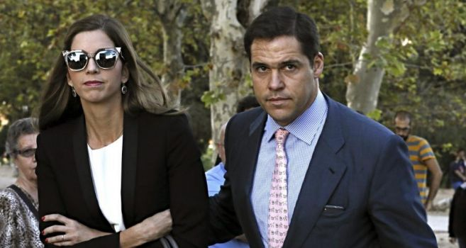 Luis Alfonso de Borbón y Margarita Vargas, en una imagen reciente.
