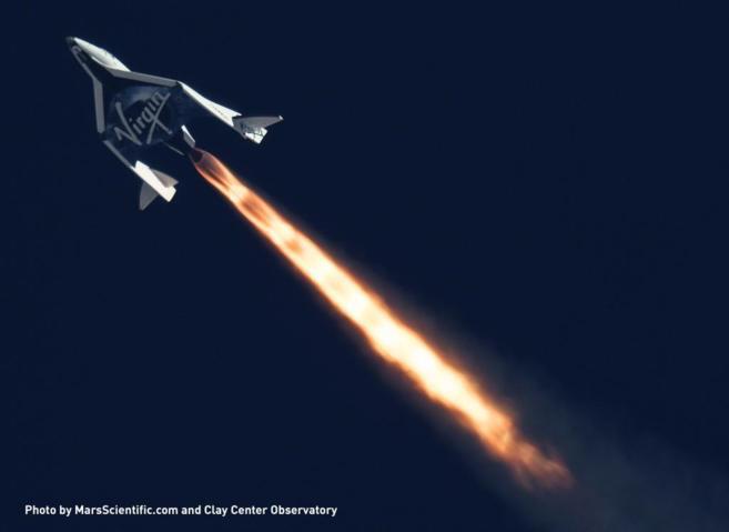 Virgin Galactic ha pospuesto el inicio de sus vuelos suborbitales en...