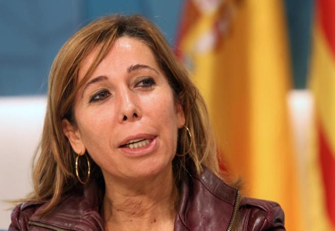 La líder del PPC, Alícia Sánchez-Camacho