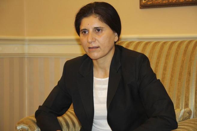 Asya Adbullah, copresidenta de Unión Patriótica del Kurdistán.