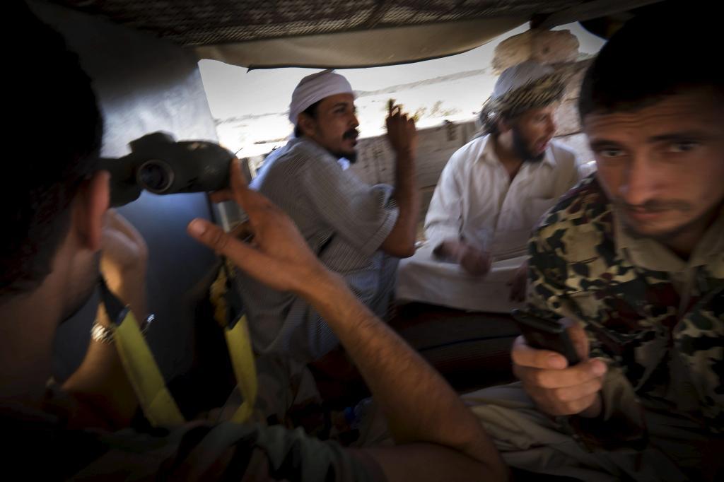 Última posición de la katiba de Misrata al sudoeste de Trípoli.