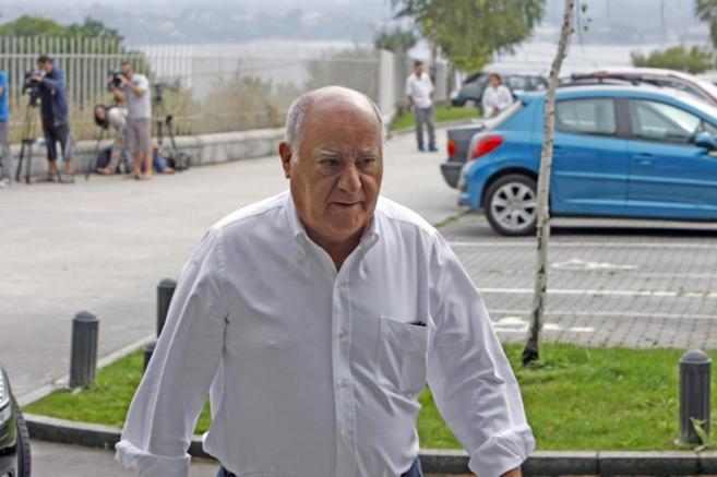 El empresario español y fundador de Inditex, Amancio Ortega.