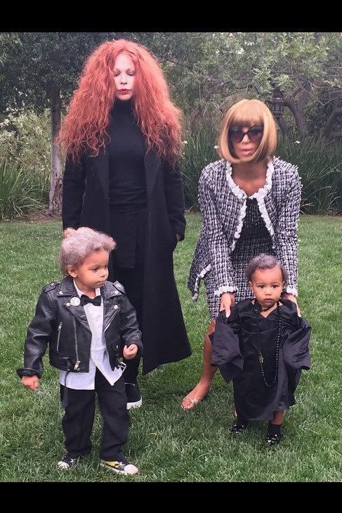 Los disfraces más 'fashionistas' han sido los de Kim Kardashian y su...